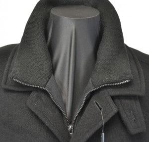 Calvin Klein Black Car Coat #7OUM000