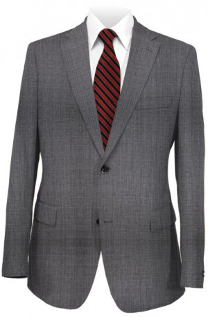 Calvin Klein Gray Micro-Check Suit Separates Package