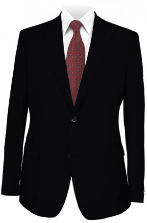 Cosani Black Solid Color Suit #803-0S2FN