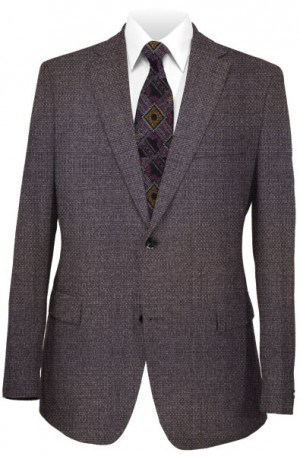 TailoRed Gray Diamond-Dot Tailored Fit Sportcoat #8110040