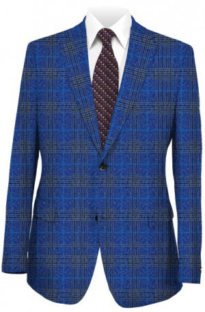 TailoRed Blue Pattern Sportcoat #8110058
