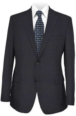 Mattarazi Navy Stripe Suit #811521-2