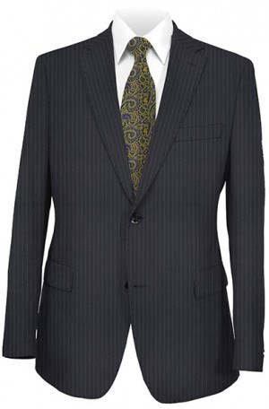Mattarazi Navy Stripe Suit #812321-2