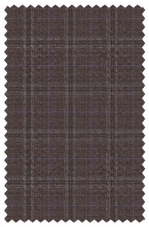 TailoRed Brown Pattern Tailored Fit Sportcoat #8130057