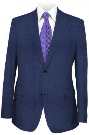 Petrocelli Medium Blue Gentleman's Fit Suit #81306