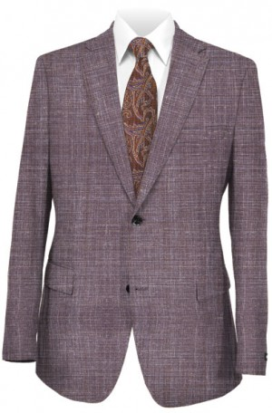 """Textures in Taupe"" Tailored Fit Summer Sportcoat from TailoRed & Loro Piana #8140094"