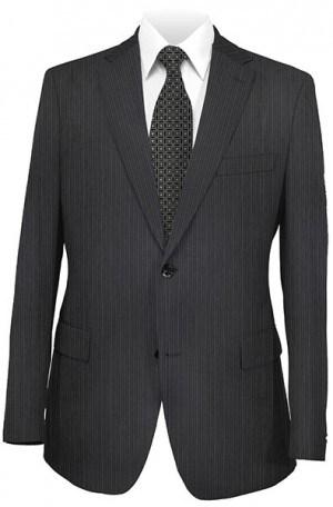Joseph Abboud Black Stripe Suit #831643