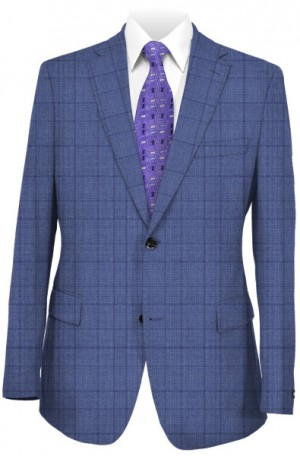 """""""Heavenly Blue"""" Tailored Fit Suit from TailoRED & Loro Piana #83C0005"""