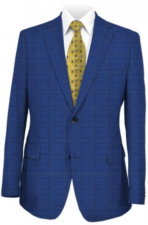 """Bold Flair"" Tailored Fit Suit from TailoRED & Loro Piana 83C0007"