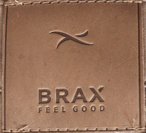 "Brax Navy 'Jeans"" Style Stretch Cotton Slax #861508-21"