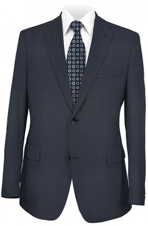 Mattarazi Blue Solid Color Suit #910310-2