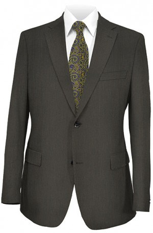 Mattarazi Black Stripe Suit #917520-1