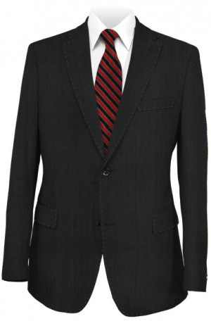 Canaletto Dressy Black Tailored Fit Suit #96001-1