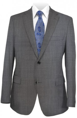 Canaletto Medium Gray Sharkskin Suit 96001-3D