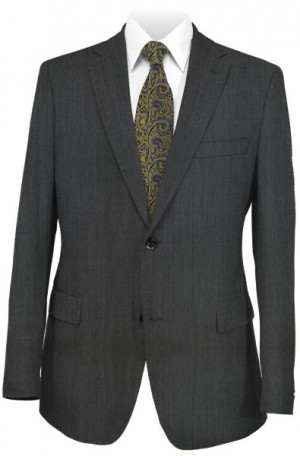 Canaletto Dressy Gray Tailored Fit Suit 96001-3
