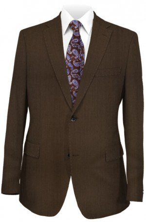 Canaletto Dressy Brown Tailored Fit Suit #96001-47