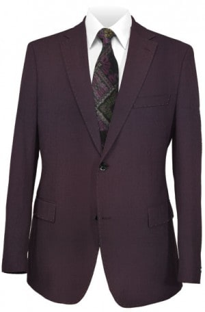 Canaletto Burgundy Tailored Fit Suit #96001-79