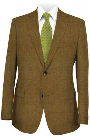 Baroni Brown Solid Color Sportcoat 9601-40.