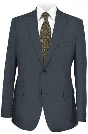 Cosani Dark Gray Solid Color Suit #973-04