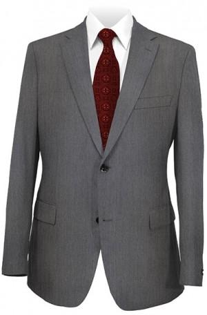 Crown Medium Gray Solid Color Suit #9803