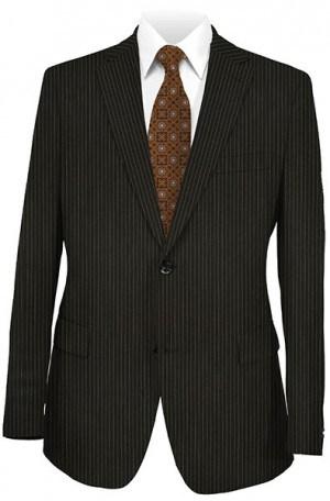 Joseph Abboud Black Stripe Suit #991030