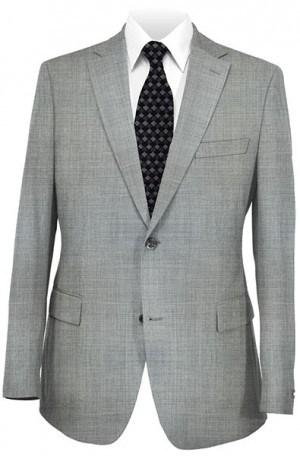 Joseph Abboud Gray Solid Color Suit #991380