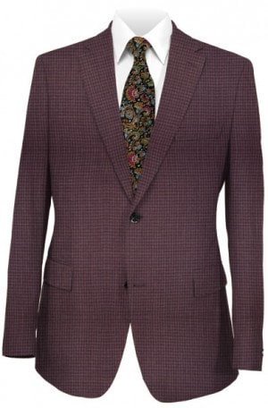 Rubin Purple Check Sportcoat 00689