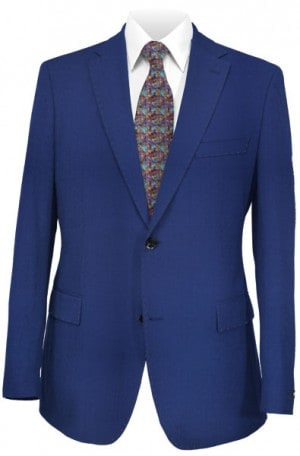Rubin Brighter Blue Tailored Fit Suit A00707