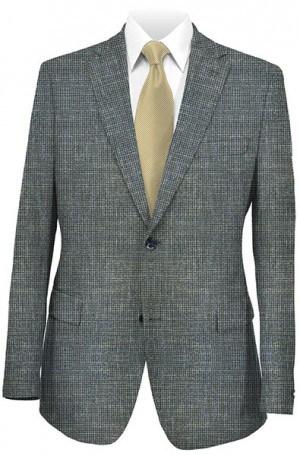 Yuste Navy Pattern Sportcoat #AJ162-01