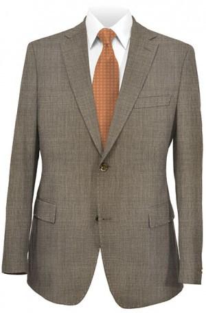 Yuste Tan Sharkskin Suit #CS135-03