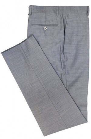 TIGLIO Medium Grey Solid Color SLACKS E09063-26