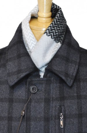 "Enzo ""Weekender"" Gray Plaid Jacket #E54879-10"