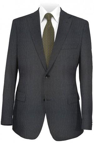 Hickey Freeman Navy Solid Color Suit F15-300001