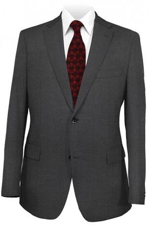 Hickey Freeman Dark Gray Tick Weave Suit F21-312272
