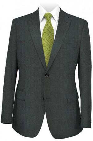 Hickey Freeman Medium Gray Solid Color Suit #F21-312402