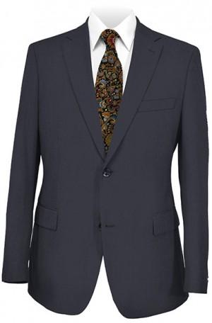 Hickey Freeman Navy Solid Color Suit #F25-321001