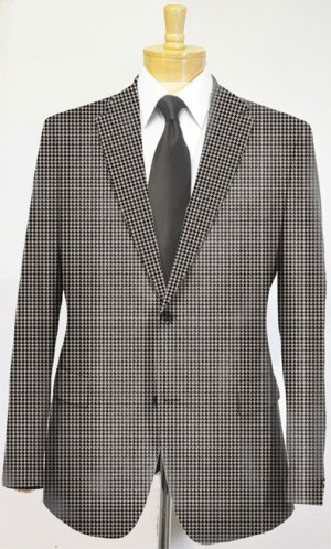 Hickey Freeman Houndstooth Suit F55-312541