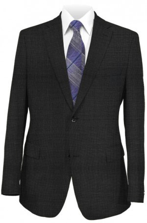 Hickey Freeman Charcoal Gray Suit F65-312512