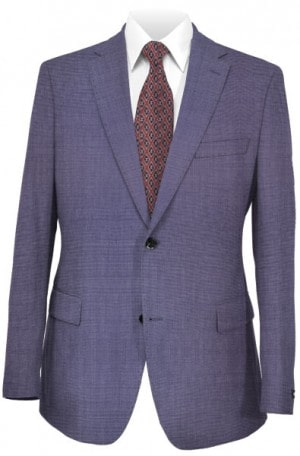 Hickey-Freeman Light Blue Suit #F71-312106