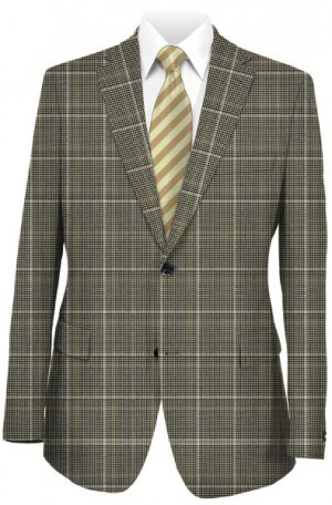 Hickey Freeman Black & White Pattern Sportcoat #F71-512103