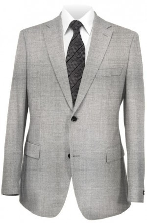 Hickey Freeman Silver-Gray Sportcoat #F71-512107