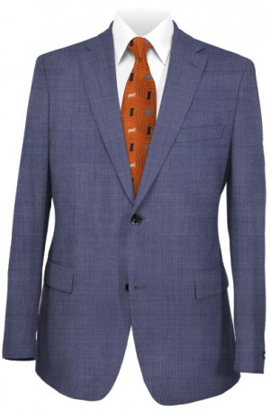 Hickey Freeman Light Blue Suit #F75-312044