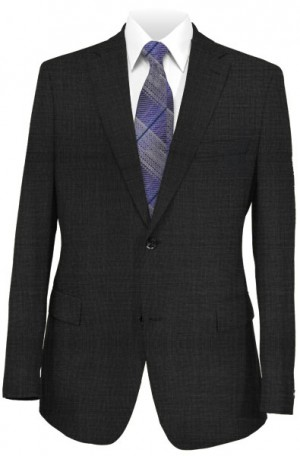Hickey Freeman Charcoal Grey Suit #F75-312702