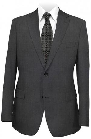 Hickey Freeman Charcoal Grey Suit #F75-312702
