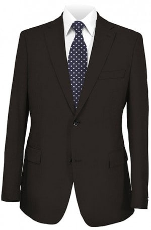 HICKEY Black Solid Color SPORTCOATS F75-525000