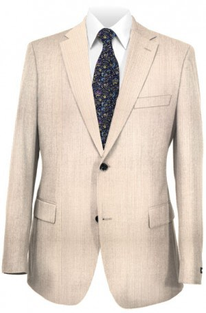 Michael Kors Light Gray Tailored Fit Suit FZZL099