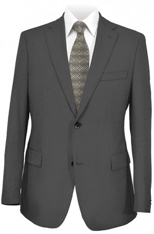 Elle Tahari Charcoal Tailored Fit Suit #HBY0201