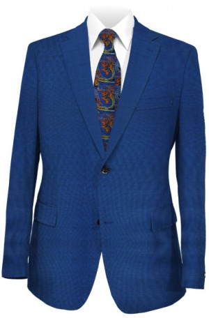Yuste Royal Blue Classic Fit Suit HDS112-01