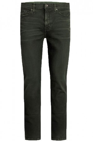 Joe's Jeans Dark Green Slim Fit Jeans #IDEOLS8215