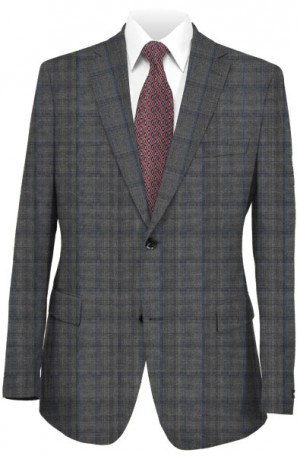 Yuste Gray Pattern Suit #IDS-125-02